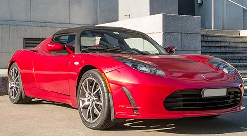 Electric car tyres Tesla